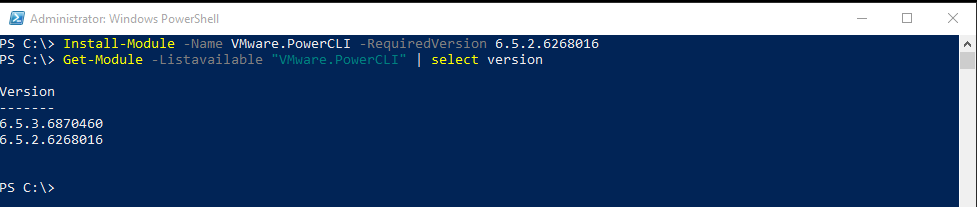 VMware PowerCLI - A guide to installing,updating and uninstalling